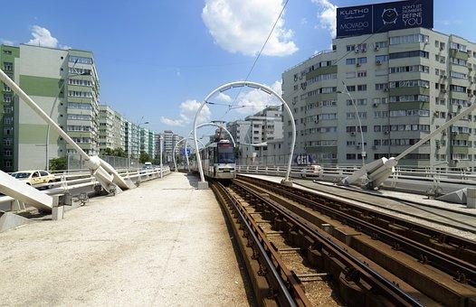 Landscape, Urban, Passage, Air, Tram