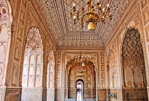Interior, Lahore, Mughal, Pakistan, Punjab, Islam