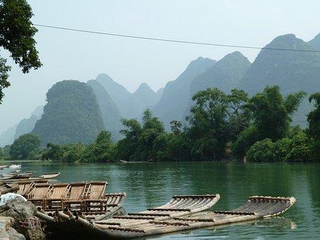 Sockertoppsbergen, China, Raft, River