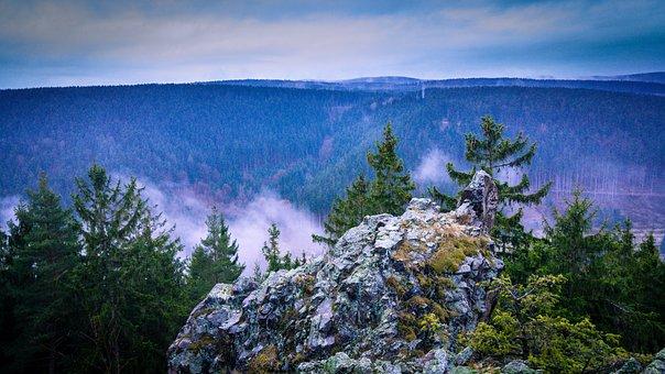 Rock, Mountain, Landscape, Mountains
