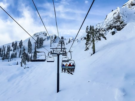 Skiing, Snow, Winter, Cold, Snowboarding