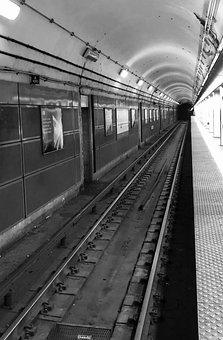 Train, Subway, Metro, Transport, Underground