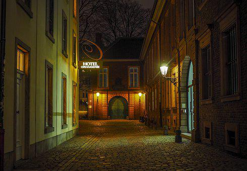 Historic Center, Alley, Historically, Architecture