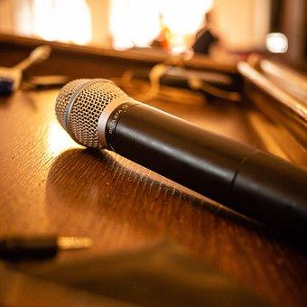 Microphone, Audio, Sound, Mic