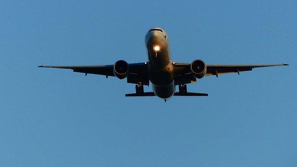 Transport, Aircraft, Flight, Blue