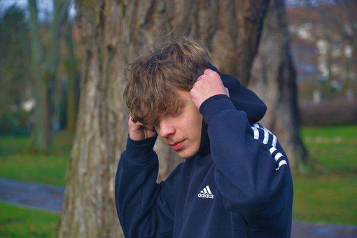 Boy, Fresh, Young, Blue, Forward, Adidas, Harre, Tree