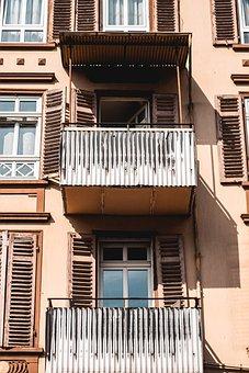 House, Windows, Building, Architecture, Construction