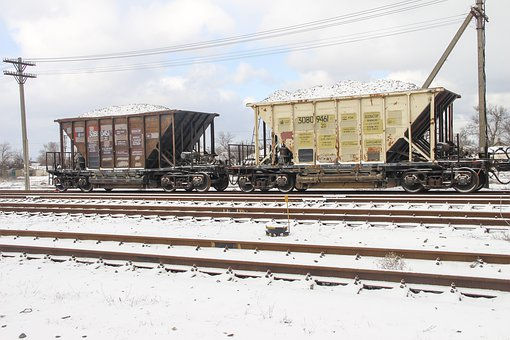Railway, Cars, Train, Iron, Road