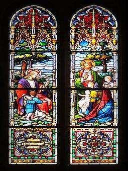 Religion, Faith, Christ, Church, Painting, Holy