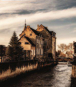 Old Town, Europe, City, Old