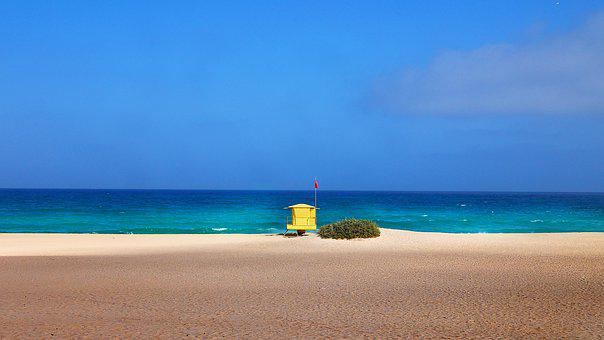 Beach, Sea, Lifeguard, Ocean, Waterpolo, Sand, Coast