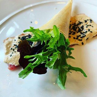 Salmon, Fancy Dish, Food Decoration, Food, Starter