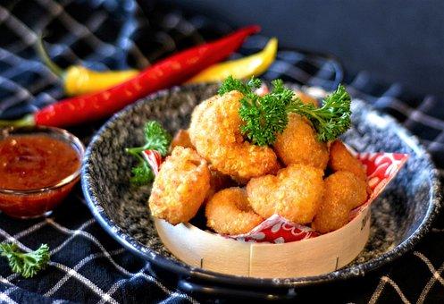 Shrimp, Fish, Starter, Baked, Calories, Kitchen
