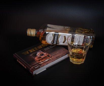 Whiskey, Alcohol, Brandy, Drink, Glass