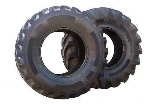Wheel, Black, Transportation, Shiny, Metal, Isolated