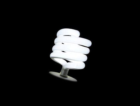 Lamp, Fluorescent, Light, Efficiency