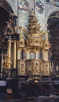 Monastery, Leżajsk, Church, Pulpit, Historically