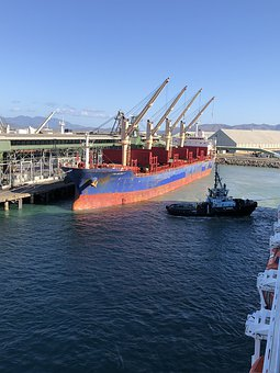 Port, Wharf, Maritime, Trade, Export, Marine, Ship