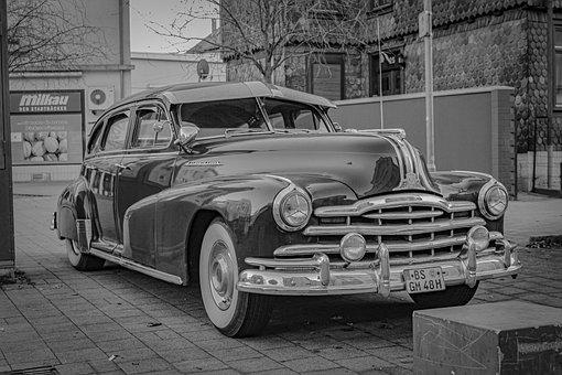 Pontiac, Silver, Streak, Classic, Oldtimer, 50, Antique