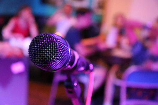 Microphone, Music, Sing, Audio, Stage, Singing, Concert