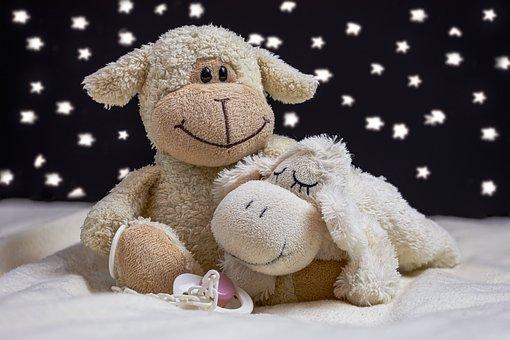 Teddy Bears, Sleep, Star, Pacifier