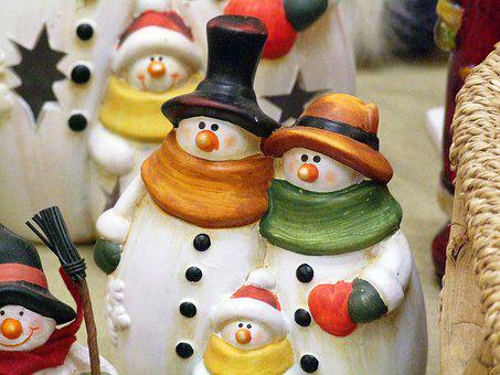 Christmas, The Birth Of Jesus, Snowman
