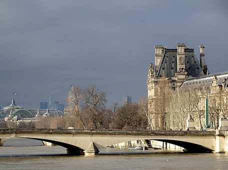 Paris, France, Urban Landscape, River, The Seine