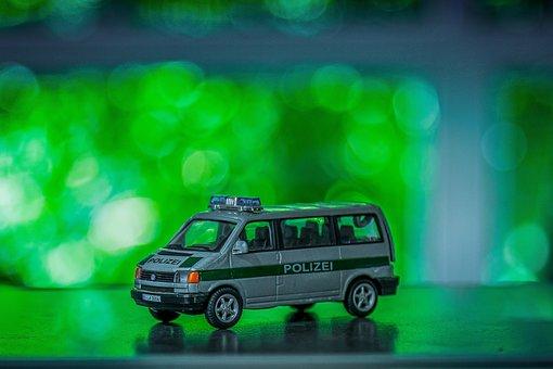 Toys, Toy Car, Model Car, Model, Police, Police Car