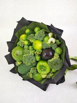 Vegetables, Green, Black, Healthy, Nutrition, Cabbage