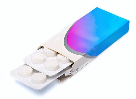 Antibiotic, Background, Blister, Box, Capsule, Care