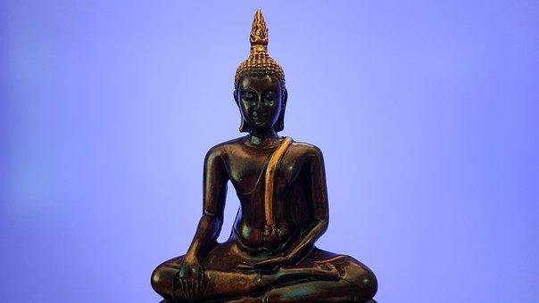 Budda, Yoga, Med, Religion, Meditation
