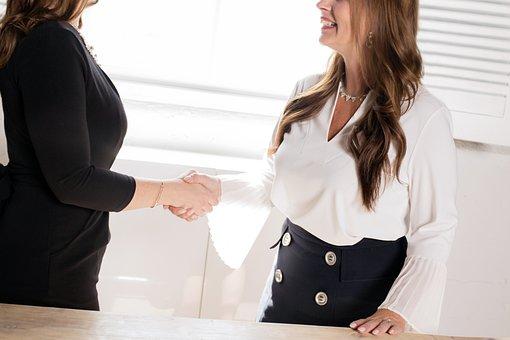 Interview, Deal, Business, Handshake