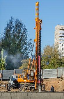Build, Cement, Column, Construct
