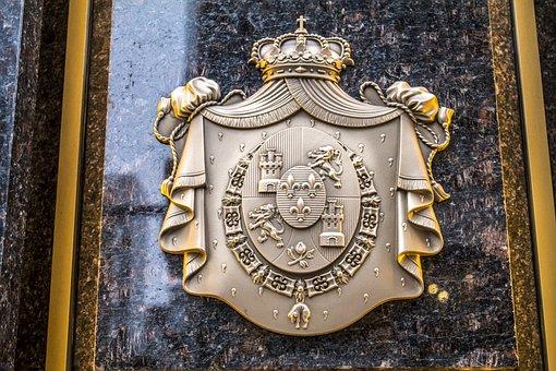 Japanese, Emblem, Coat Of Arms, Crest, Lion, Shield