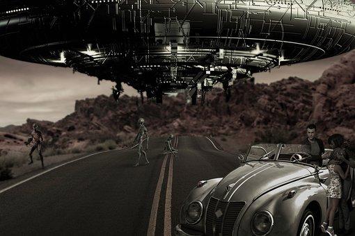 Fantasy, Utopia, Spaceship, Aliens, Family, Fear, Road
