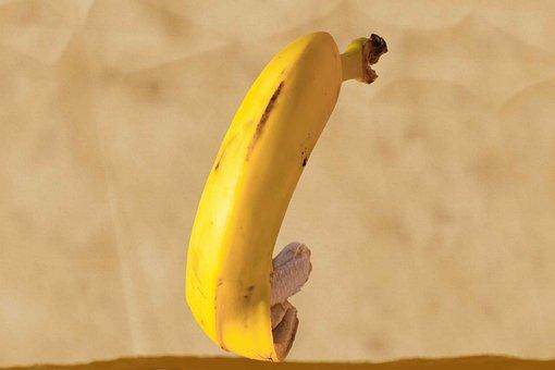 Banana, Fruit, Humor, Fresh, Healthy, Vitamins, Hungry