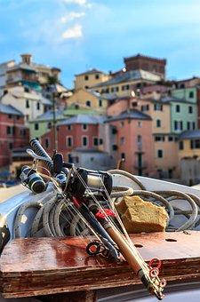 Boccadasse, Genoa, Sea, Landscape