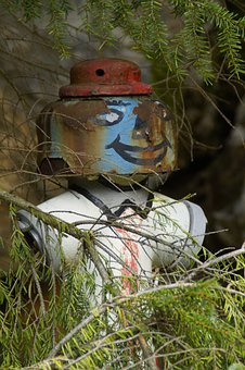Hydrant, Forget, Rusted, Hidden, Painted