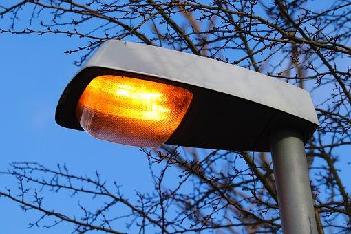 Street Lamp, Light, Street Light, Yellow, Lighting