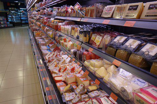 Cheese, Super Market, Food, Mallorca, Palma