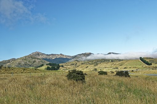 New Zealand, Southland Region, Mountains