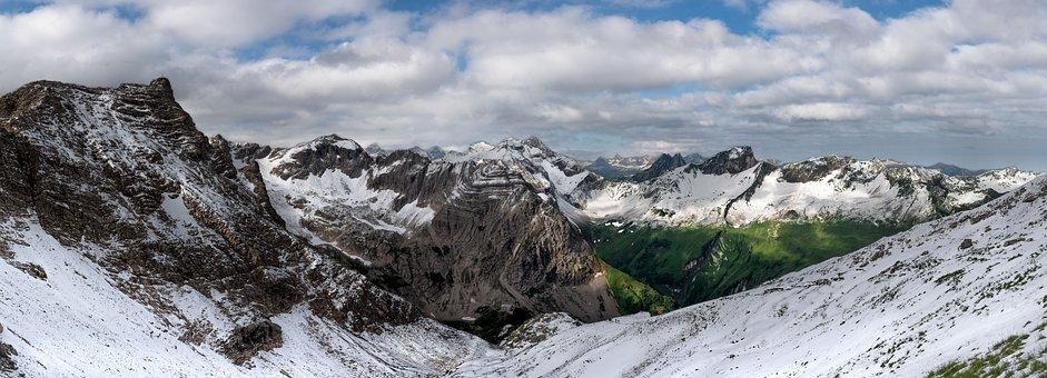 Prince Luitpold House, Alpine, Snow, Mountains, Winter