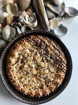 Nut Tart, Macaroons Cake, Cake, Macaroons, Dessert