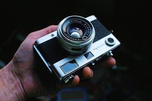 Camera, Hand, Photographer, Focus, Lens, Photograph