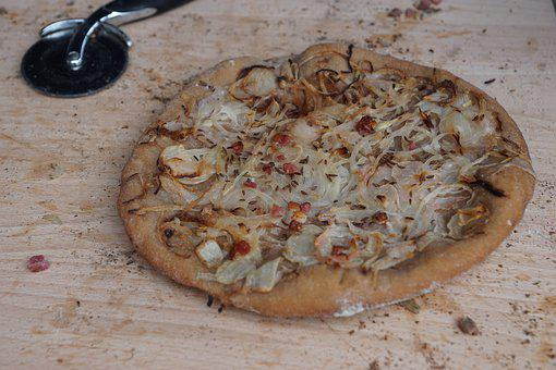 A Cake Of Bread, Case Cake, Oven, Zwiebelkuchen, Pizza