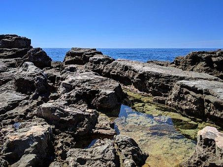 Rock, Rocks, Sea, Water, Clear Water