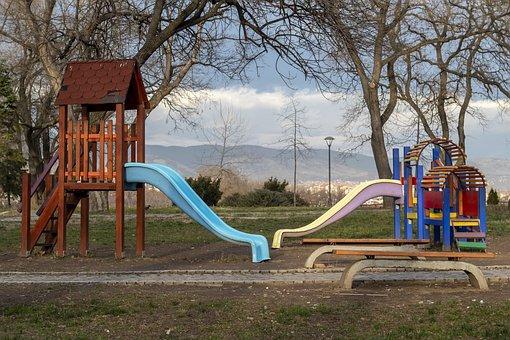Playground, Sky, Nature, Park, Play
