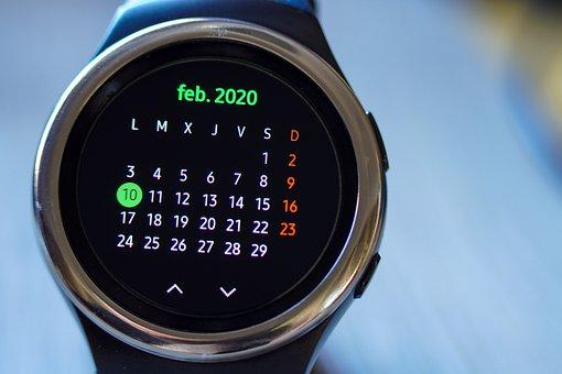 Calendar, Clock, Time, Technology