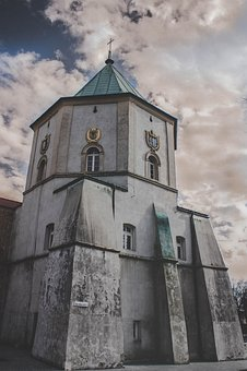 Tower, Monastery, Church, Leżajsk, Architecture