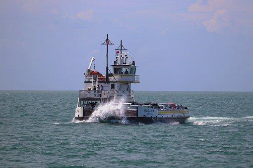 Boat, Vehicle Carrier, Ocean, Vessel, Transport, Ship